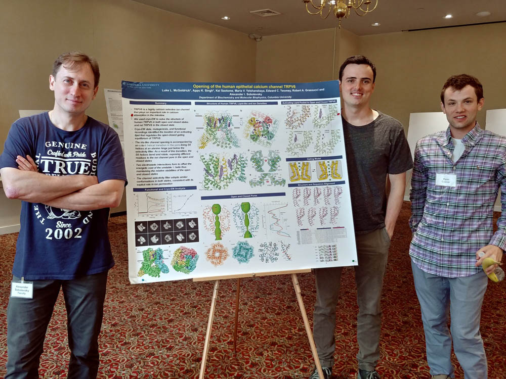 Sobolevsky Lab at CMBS Integrated Program Retreat 2018