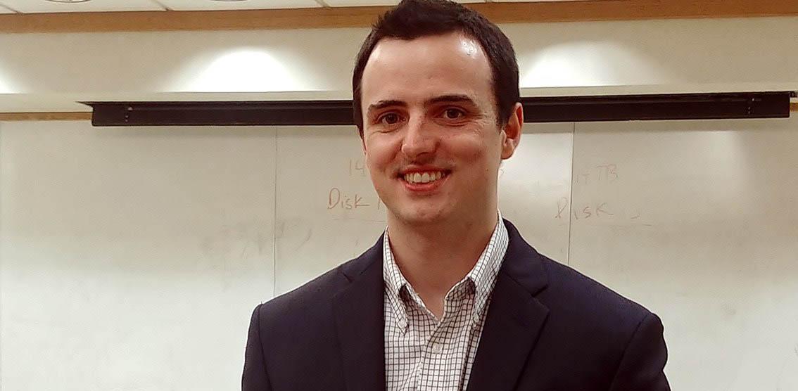 New PhD - Dr. Luke McGoldrick